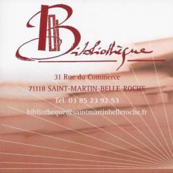 Bibliothèque de St Martin Belle Roche